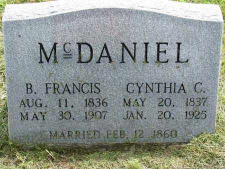 POWELL MCDANIEL, CYNTHIA G - Gallia County, Ohio | CYNTHIA G POWELL MCDANIEL - Ohio Gravestone Photos