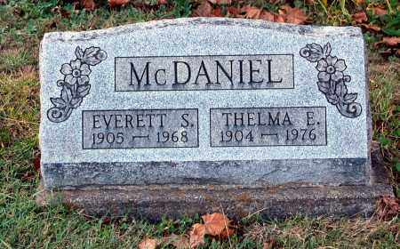 MCDANIEL, THELMA E - Gallia County, Ohio | THELMA E MCDANIEL - Ohio Gravestone Photos
