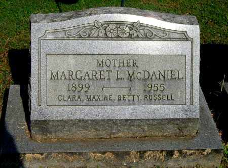 MCDANIEL, MARGARET L - Gallia County, Ohio | MARGARET L MCDANIEL - Ohio Gravestone Photos