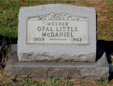 LITTLE MCDANIEL, OPAL - Gallia County, Ohio | OPAL LITTLE MCDANIEL - Ohio Gravestone Photos