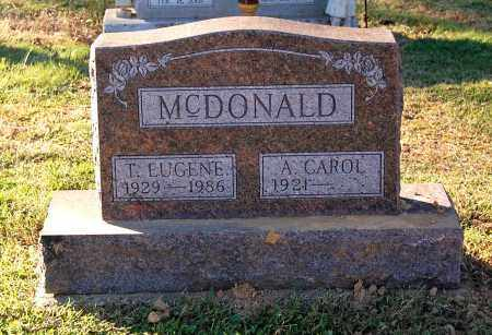 MCDONALD, T. EUGENE - Gallia County, Ohio | T. EUGENE MCDONALD - Ohio Gravestone Photos