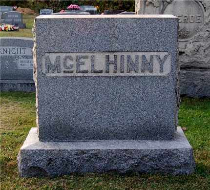 MCELHINNY, FAMILY MONUMENT - Gallia County, Ohio | FAMILY MONUMENT MCELHINNY - Ohio Gravestone Photos