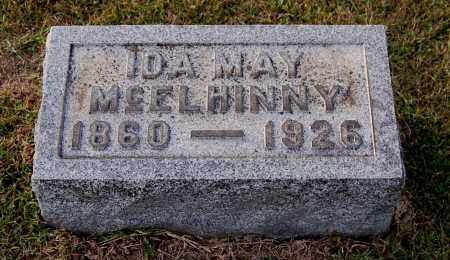 JONES MCELHINNY, IDA MAY - Gallia County, Ohio | IDA MAY JONES MCELHINNY - Ohio Gravestone Photos