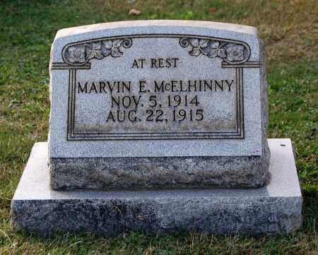 MCELHINNY, MARVIN E - Gallia County, Ohio | MARVIN E MCELHINNY - Ohio Gravestone Photos