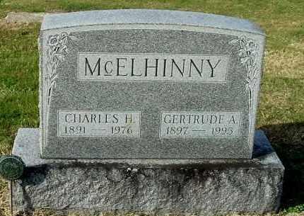 MCELHINNY, GERTRUDE A - Gallia County, Ohio | GERTRUDE A MCELHINNY - Ohio Gravestone Photos