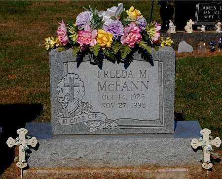 MCFANN, FREEDA M - Gallia County, Ohio | FREEDA M MCFANN - Ohio Gravestone Photos