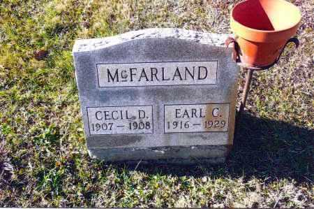 MCFARLAND, CECIL D. - Gallia County, Ohio | CECIL D. MCFARLAND - Ohio Gravestone Photos