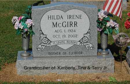 MCGIRR, HILDA IRENE - Gallia County, Ohio | HILDA IRENE MCGIRR - Ohio Gravestone Photos