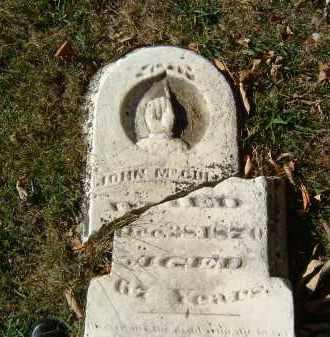 MCGUIRE, JOHN - Gallia County, Ohio | JOHN MCGUIRE - Ohio Gravestone Photos
