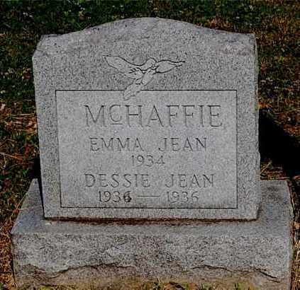 MCHAFFIE, EMMA JEAN - Gallia County, Ohio | EMMA JEAN MCHAFFIE - Ohio Gravestone Photos