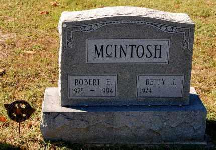 MCINTOSH, ROBERT E. - Gallia County, Ohio | ROBERT E. MCINTOSH - Ohio Gravestone Photos