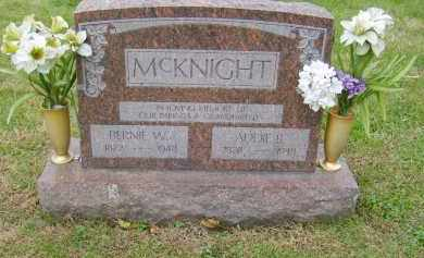 MCKNIGHT, ADDIE - Gallia County, Ohio | ADDIE MCKNIGHT - Ohio Gravestone Photos