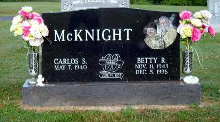 MCKNIGHT, BETTY R - Gallia County, Ohio | BETTY R MCKNIGHT - Ohio Gravestone Photos