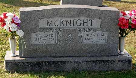 MCKNIGHT, F. L. LAFE - Gallia County, Ohio | F. L. LAFE MCKNIGHT - Ohio Gravestone Photos