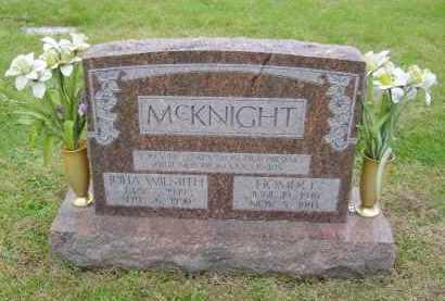 MCKNIGHT, JULIA - Gallia County, Ohio | JULIA MCKNIGHT - Ohio Gravestone Photos