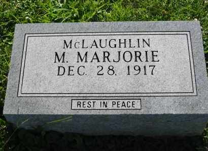 MCLAUGHLIN, M. MARJORIE - Gallia County, Ohio | M. MARJORIE MCLAUGHLIN - Ohio Gravestone Photos