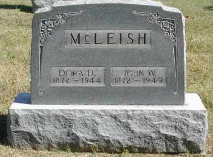 MCLEISH, DORA - Gallia County, Ohio | DORA MCLEISH - Ohio Gravestone Photos