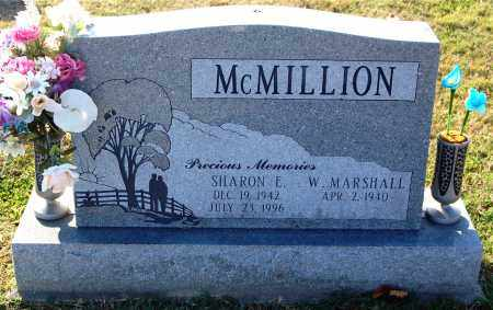 MCMILLION, SHARON E. - Gallia County, Ohio | SHARON E. MCMILLION - Ohio Gravestone Photos