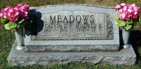 MEADOWS, MILDRED - Gallia County, Ohio | MILDRED MEADOWS - Ohio Gravestone Photos