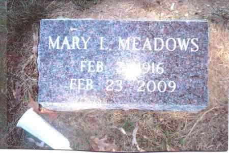 MEADOWS, MARY L. - Gallia County, Ohio | MARY L. MEADOWS - Ohio Gravestone Photos