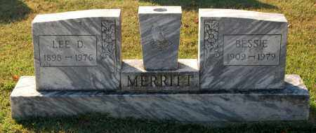 MERRITT, LEE D. - Gallia County, Ohio | LEE D. MERRITT - Ohio Gravestone Photos
