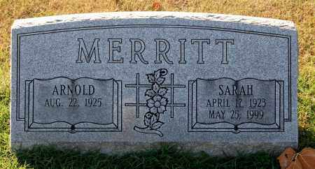 MERRITT, ARNOLD - Gallia County, Ohio | ARNOLD MERRITT - Ohio Gravestone Photos