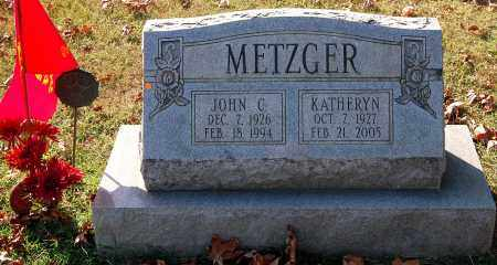 METZGER, KATHERYN - Gallia County, Ohio | KATHERYN METZGER - Ohio Gravestone Photos