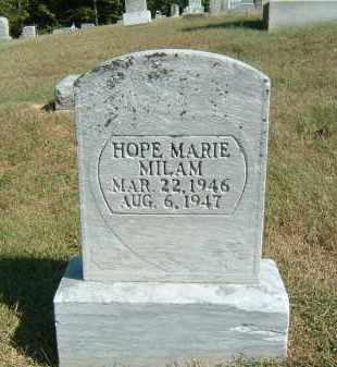 MILAM, HOPE MARIE - Gallia County, Ohio | HOPE MARIE MILAM - Ohio Gravestone Photos