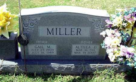 MILLER, ALTHEA D - Gallia County, Ohio | ALTHEA D MILLER - Ohio Gravestone Photos