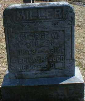 MILLER, GEORGE - Gallia County, Ohio | GEORGE MILLER - Ohio Gravestone Photos