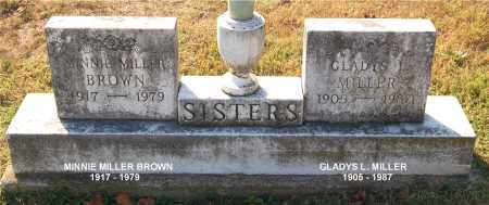 BROWN, MINNIE - Gallia County, Ohio | MINNIE BROWN - Ohio Gravestone Photos