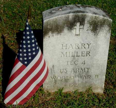 MILLER, HARRY - Gallia County, Ohio | HARRY MILLER - Ohio Gravestone Photos