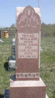 MILLER, ISAAC - Gallia County, Ohio | ISAAC MILLER - Ohio Gravestone Photos