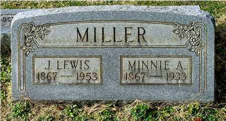 COUGHENOUR MILLER, MINNIE A - Gallia County, Ohio | MINNIE A COUGHENOUR MILLER - Ohio Gravestone Photos