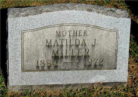 MILLER, MATILDA J - Gallia County, Ohio | MATILDA J MILLER - Ohio Gravestone Photos