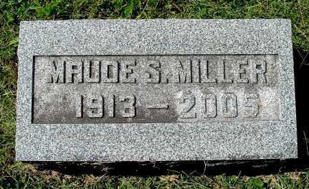 MILLER, MAUDE S - Gallia County, Ohio | MAUDE S MILLER - Ohio Gravestone Photos