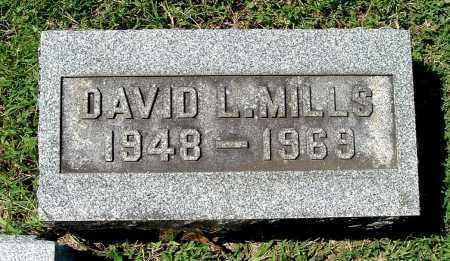MILLS, DAVID L - Gallia County, Ohio | DAVID L MILLS - Ohio Gravestone Photos