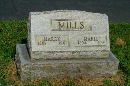 MILLS, HARRY - Gallia County, Ohio | HARRY MILLS - Ohio Gravestone Photos