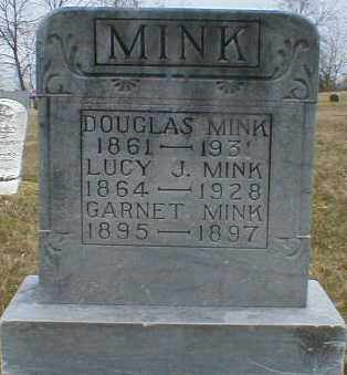 MINK, DOUGLAS - Gallia County, Ohio | DOUGLAS MINK - Ohio Gravestone Photos