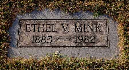 FULTON MINK, ETHEL V - Gallia County, Ohio | ETHEL V FULTON MINK - Ohio Gravestone Photos