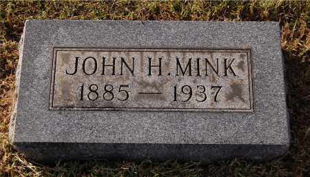 MINK, JOHN H - Gallia County, Ohio | JOHN H MINK - Ohio Gravestone Photos