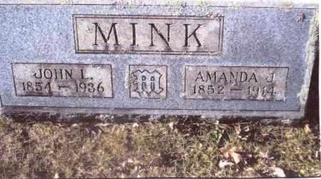 MINK, AMANDA J. - Gallia County, Ohio | AMANDA J. MINK - Ohio Gravestone Photos