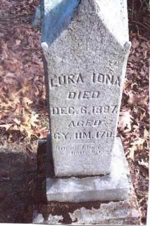 MINK, LURA IONA - Gallia County, Ohio | LURA IONA MINK - Ohio Gravestone Photos