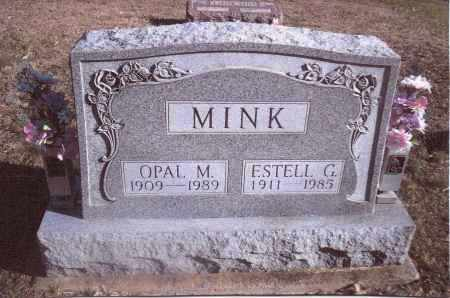 MINK, ESTELL G. - Gallia County, Ohio | ESTELL G. MINK - Ohio Gravestone Photos