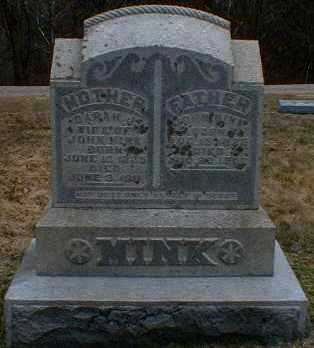 TIPTON MINK, SARAH - Gallia County, Ohio | SARAH TIPTON MINK - Ohio Gravestone Photos