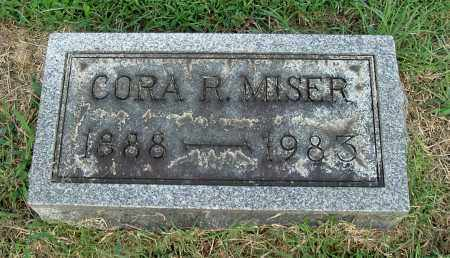 MISER, CORA R - Gallia County, Ohio | CORA R MISER - Ohio Gravestone Photos
