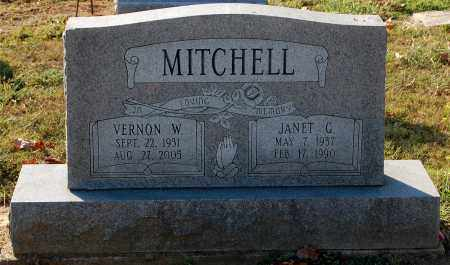 MITCHELL, JANET G. - Gallia County, Ohio | JANET G. MITCHELL - Ohio Gravestone Photos