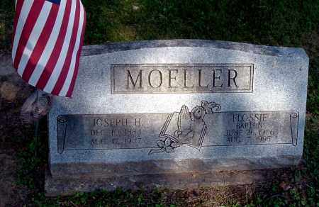 BARTON MOELLER, FLOSSIE - Gallia County, Ohio | FLOSSIE BARTON MOELLER - Ohio Gravestone Photos