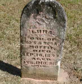 MOFFITT, LURA - Gallia County, Ohio   LURA MOFFITT - Ohio Gravestone Photos