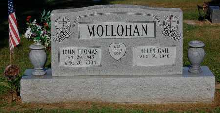 MOLLOHAN, JOHN THOMAS - Gallia County, Ohio | JOHN THOMAS MOLLOHAN - Ohio Gravestone Photos